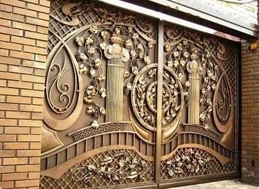 Добротные кованые ворота и калитки – надежность, безупречный стиль и долговечность