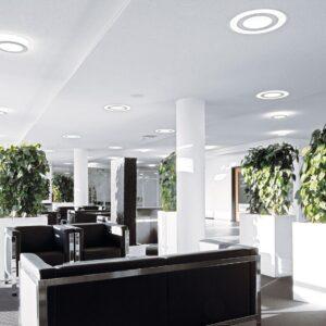 Светодиодные светильники в офисе — плюсы и минусы