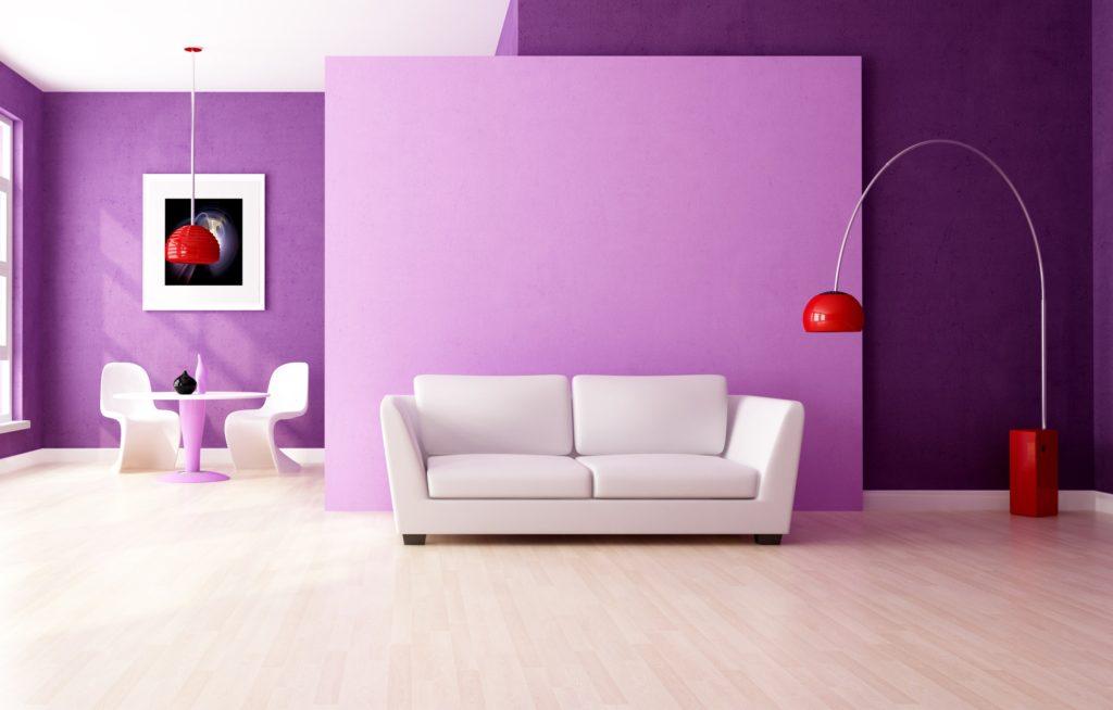 водоэмульсионная краска – проста в использовании, быстро сохнет и практически без запаха, можно колеровать любым цветом, но требует ровной подготовленной поверхности, иначе выглядеть комната будет неаккуратно